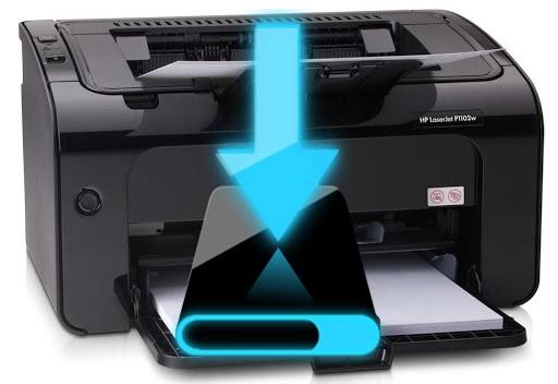 تعريف hp laserjet p1102w